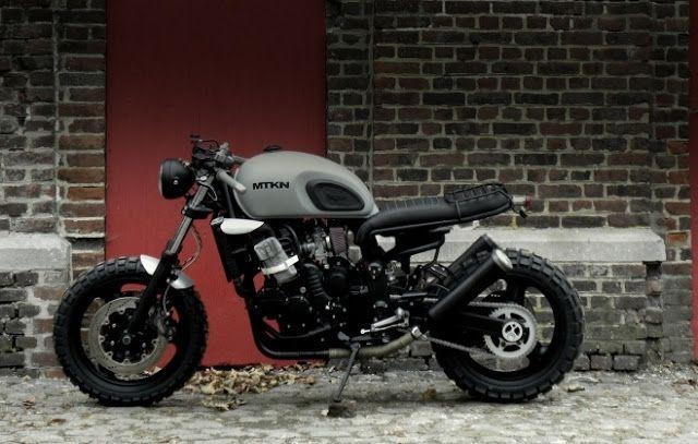 ϟ Hell Kustom ϟ: Triumph By Motokouture