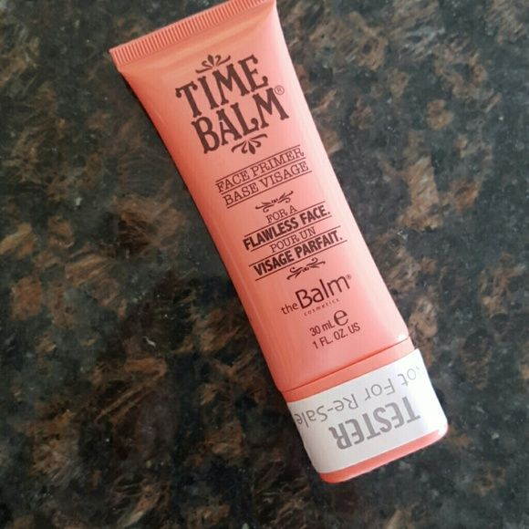 NEW Time Balm face primer by The Balm Cosmetics Never used, got from work as gratis. Just have too many primers:) Love to trade! the balm Makeup Face Primer