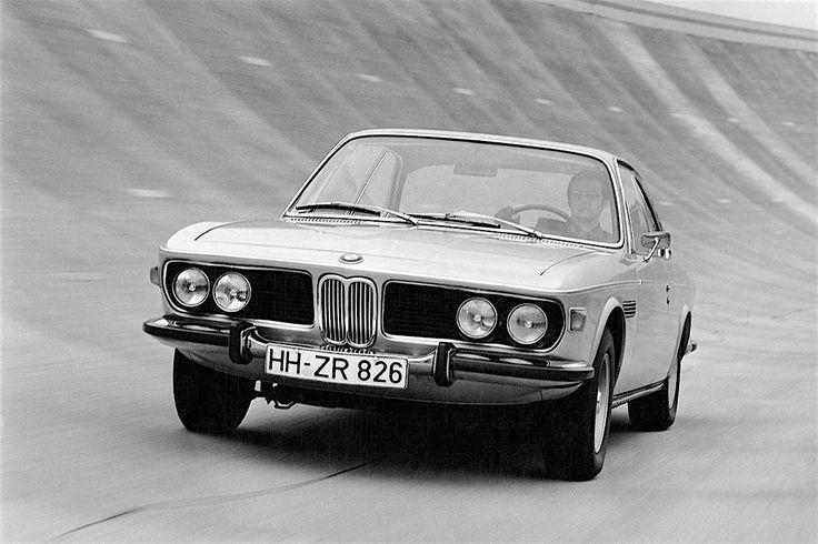 bmw 2800cs - e9 - 1968