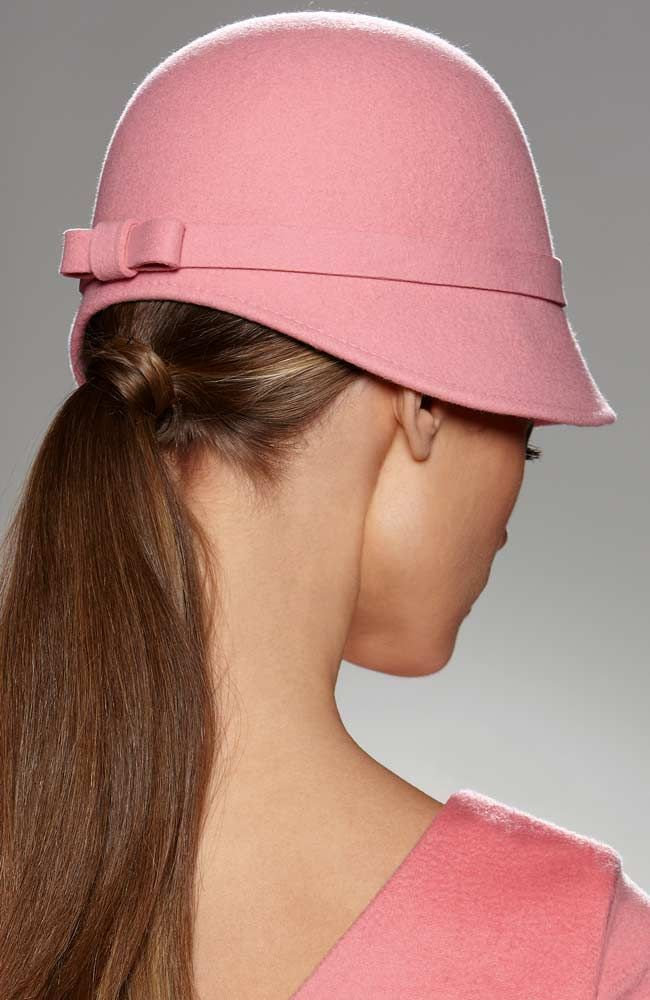 """Find out where Glamour Goddess wore this blush pink Cinzia Rocca 1920's inspired cloche hat. Read """"BOB"""" at: http://ndnyurlife.com"""