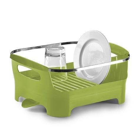 Сушилка для посуды Basin зеленая / Umbra / Интернет-магазин дизайнерских вещей AdMe.Shop