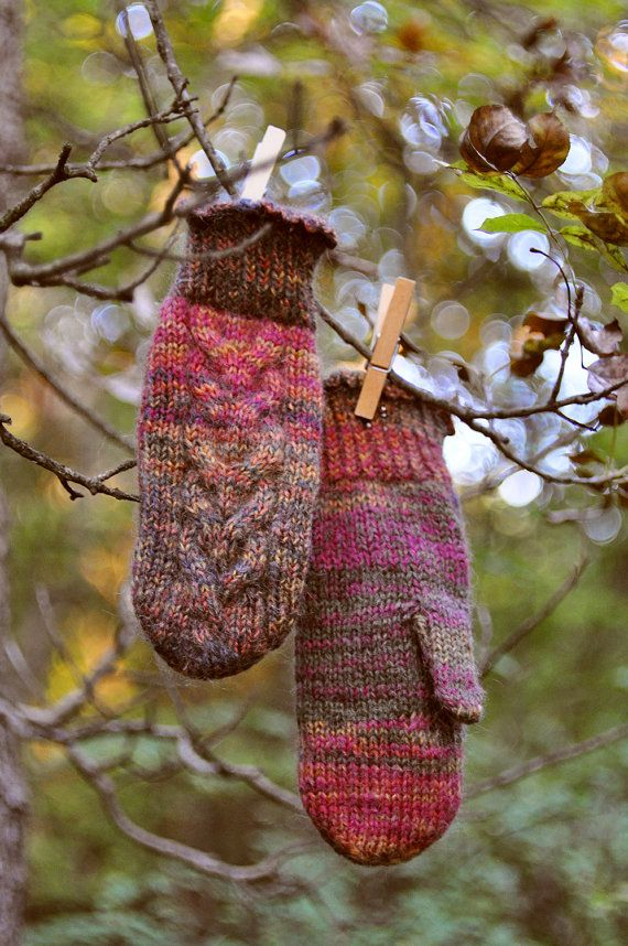 Knitted Mittens. #Christmas_Mittens #Hand_Mittens #Knitted_Mittens #Patterned_Mittens #Wool_Mittens #Winter_Mittens #Ladies_Mittens #Knitted_Warmer_Gift #Mittens_Gloves #Warmer_Mittens #purple_mittens #soft_mittens #Christmas_Gifts