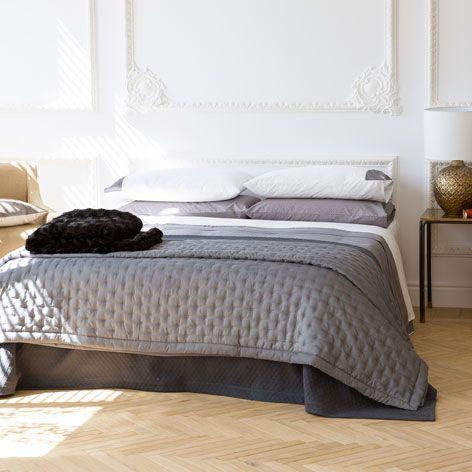 Édredon et housse de coussin détail surpiqûre carré - Édredons - Lit | Zara Home Canada