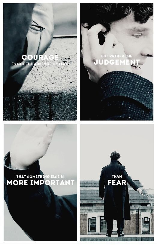 John, Mrs. Hudson, LeStrade, and Molly were more important to him than death, which is really cool. Sherlock would not do this on his own, because it doesn't make sense. However, he believed it logical to die for those people. I'm crying!