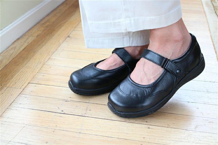 Alegria Sonya Black Nappa | Alegria Shoe Shop