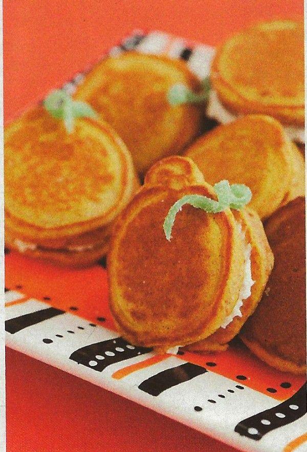 pumpkin pancake cream cheese sandwiches pumpkin pancakes pumpkin pies ...