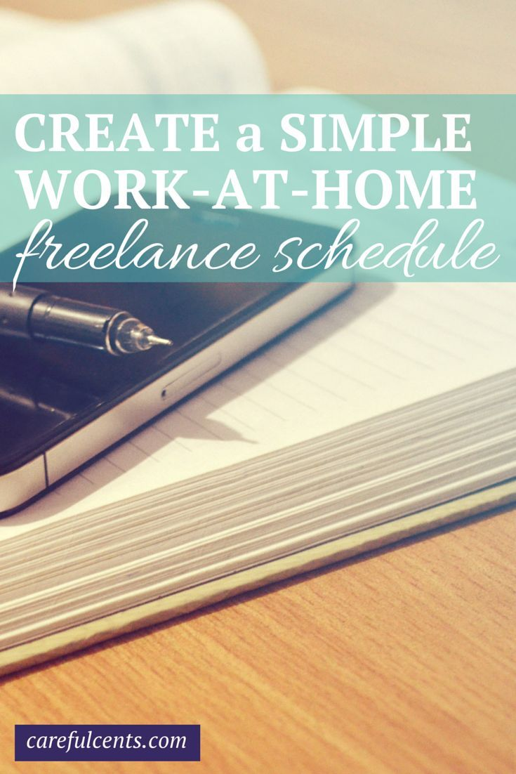 How to Manage a Flexible Work-at-Home Schedule as a Freelancer, written for CarefulCents.com. blogging tips, blogging ideas, #blog #blogger #blogtips
