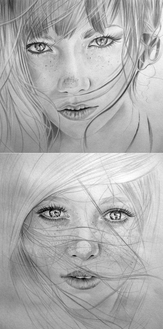 Красивые рисунки карандашом...Xудожник Вероника Щеголева