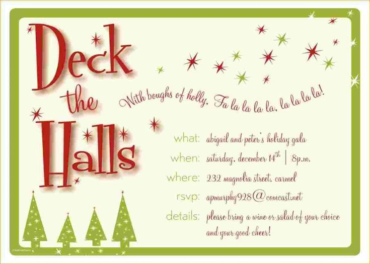 The 25+ best Holiday party invitation template ideas on Pinterest - free party invitations templates