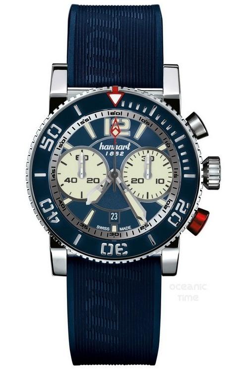 Hanhart Primus Dive Chronograph. #hanhart German Swiss Watchmakers  #horlogerie #chrono @calibrelondon