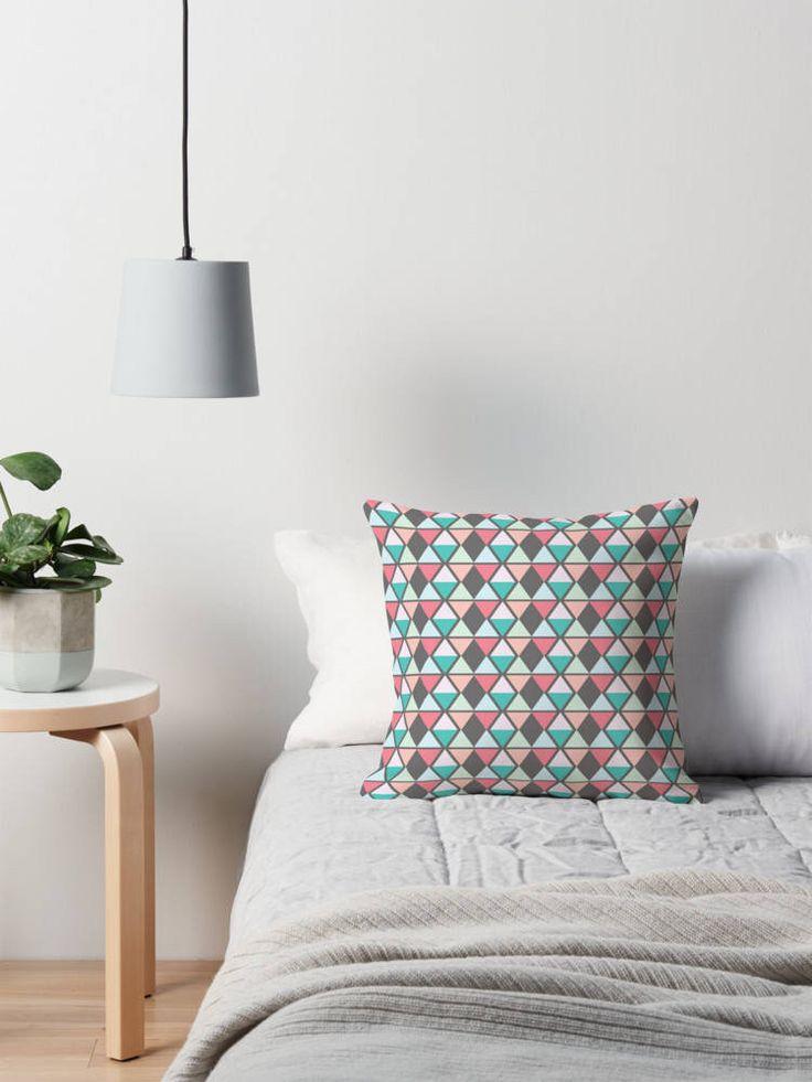 Grey Throw pillow, grey cushion, geometric cushion, geometric decor, grey pillow, sofa cushion, pastel home decor, pastel cushion, geometric by ShadowbrightDesigns on Etsy https://www.etsy.com/uk/listing/541377593/grey-throw-pillow-grey-cushion-geometric