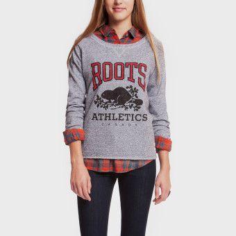 Roots - Rba Crew Sweatshirt, $64 size s