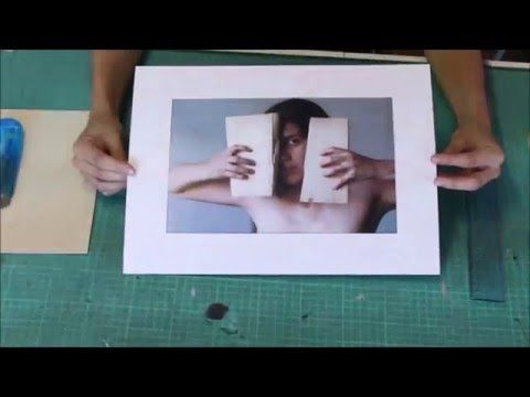 Tutorial Cómo hacer Paspartú - YouTube Cuadros Diy, Diy Frame, Diy Tutorial, Ideas Para, Handmade, Inspiration, Youtube, Yoga, Craft