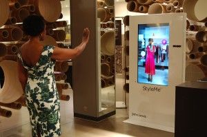 IT and network communications giant Cisco is trialling a new 'virtual mirror' in John Lewis' Oxford Street flagship store. The mirrors incorporate built-in cameras that capture shoppers' body dimensions and positioning. Using artificial intelligence, virtual reality, and gesture-recognition technology, the mirrors then superimpose clothing items over customers' on-screen images. In effect becoming virtual changing rooms.