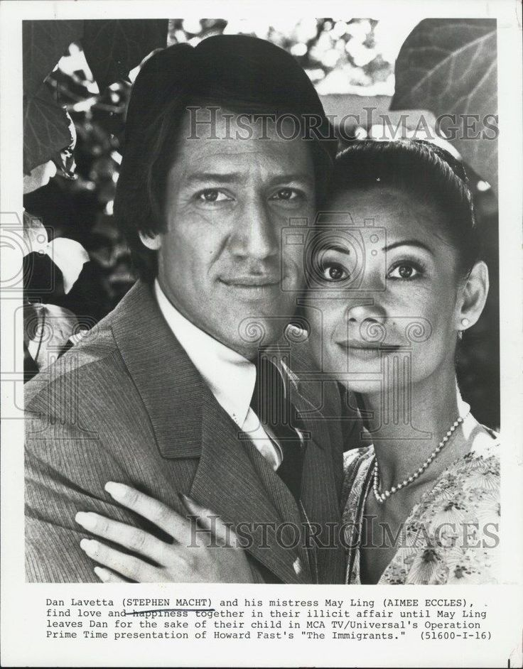 """1978 Press Photo Stephen Macht in """"The Immigrants"""""""