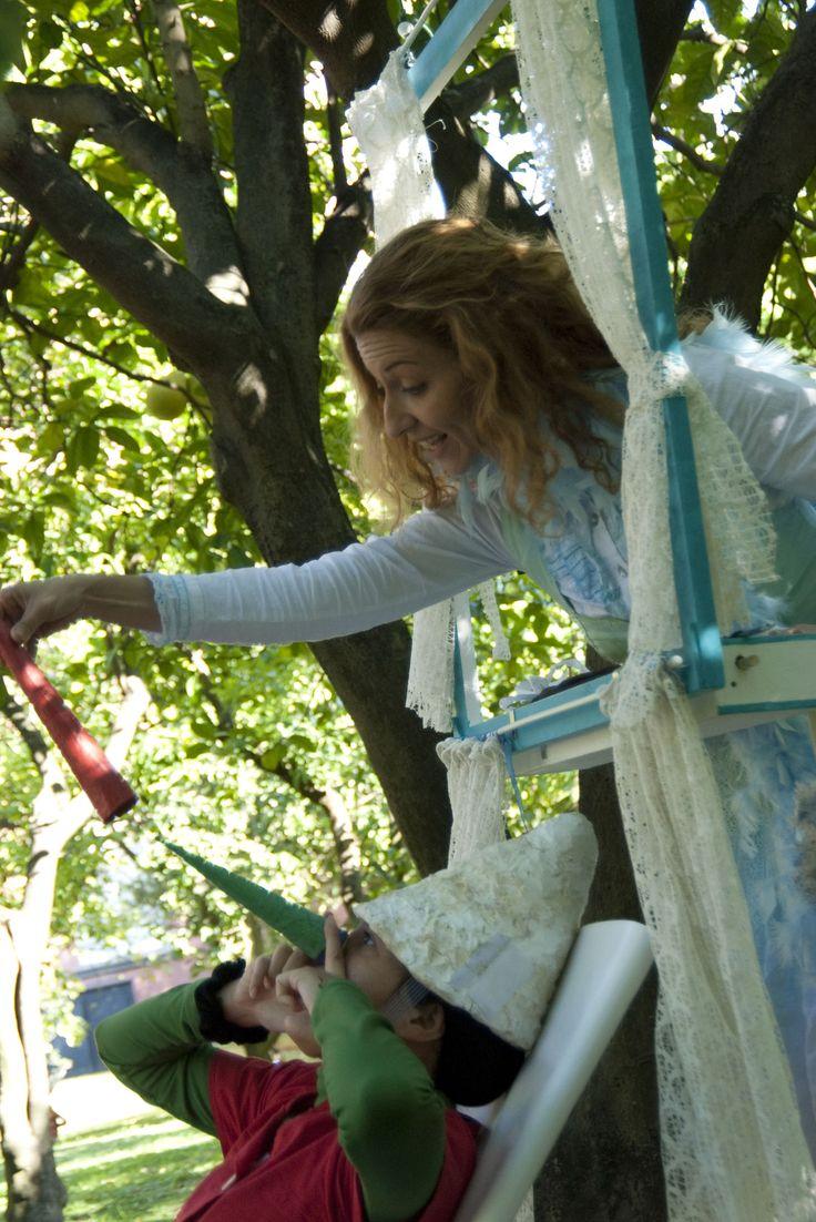 Gli alberi di Pinocchio    Gli alberi di Pinocchio - I Teatrini regia Giovanna Facciolo foto@PinoMiraglia — presso Orto Botanico di Napoli.