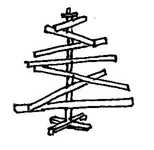 Wooden Tree for Christmas  http://www.vtwonen.nl/tips-en-trucs/zelfmaakplan/kerstboom-van-hout.html