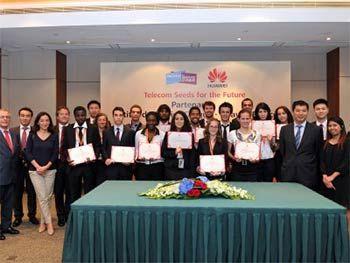 """Concours """" Talents Numériques 2014 """" de Huawei France - Huawei annonce l'ouverture des candidatures en ligne au programme """"Talents Numériques"""". Organisé sous forme de concours, le programme """"Talents Numériques"""" permet à 12 élèves ingénieurs français ..."""