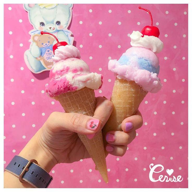 アイスクリームキャンドルのサイズ感のお問い合わせがあったので 1/1サイズです . #cerisestore #cerise #candles . http://ift.tt/2qGRavB