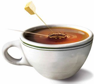 """The Cult of the Bulletproof Coffee Diet -  """"mind clarity and a bit of pep,"""" NO. Your brain's preferred energy source is glucose."""