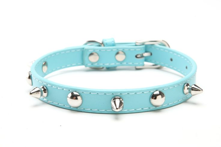 Spiked Studded Leather Dog Collar Pit Bull Boxer * For more information, visit image link. (This is an affiliate link and I receive a commission for the sales)