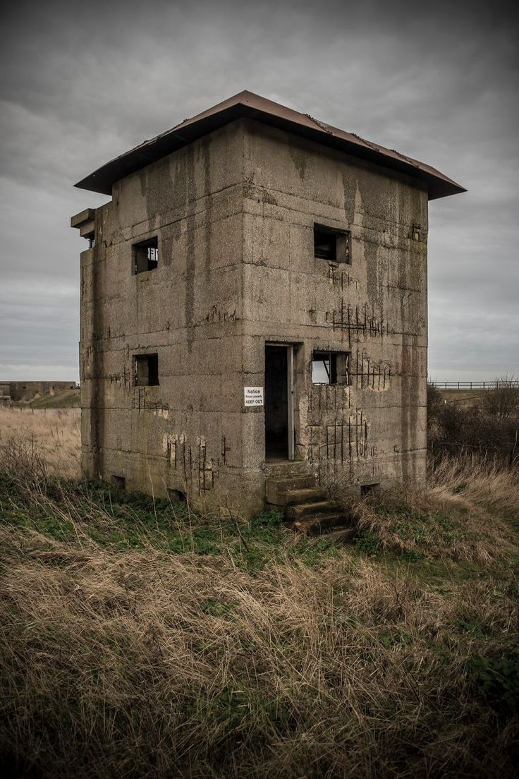 10 Abandoned Fire Control Towers Of World War Two