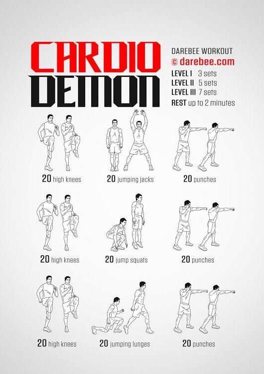 Cardio Demon Workout