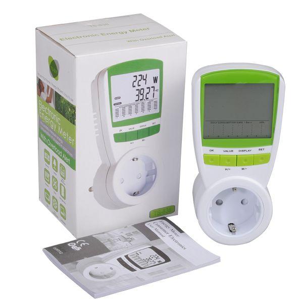 DANIU Medidor de energia elétrica de economia de energia Watt Consumption Monitor Analyzer