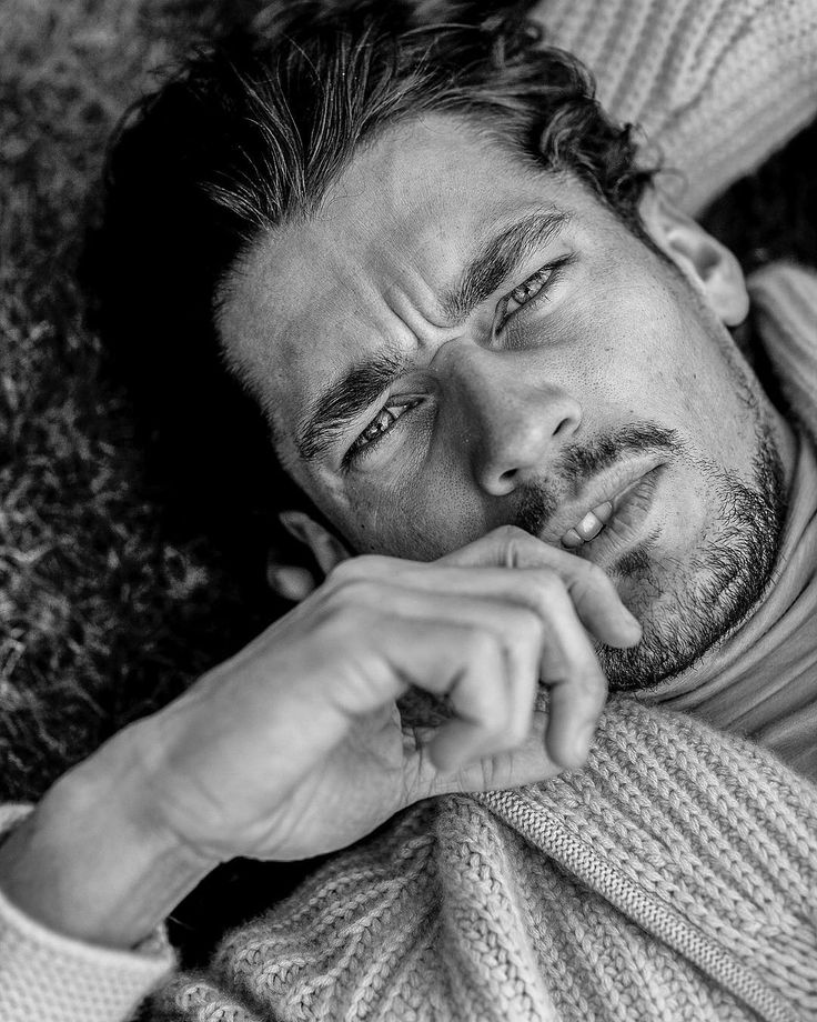 """""""#TBT Never published Portrait of #SuperModel @davidgandy_official Clad in @burberry From Our 2009 @gqjapan Editorial.Shot on location in #hemelhempstead """""""