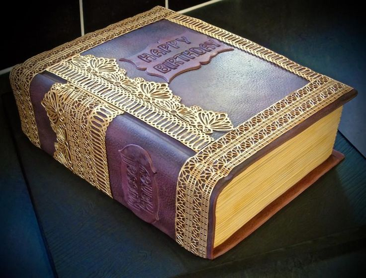 Book cake - Cake by Vanessa