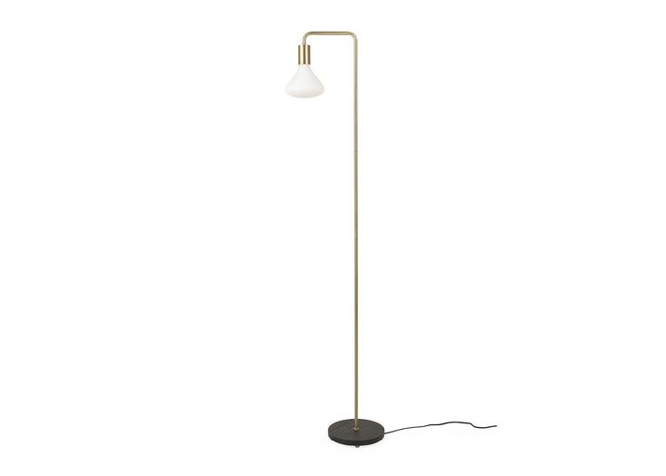 Providing the perfect contemporary industrial look, the Junction Floor Lamp gives Bauhaus-era tubular furniture a 21st Century makeover. With its thin, understated profile, this tall floor lamp makes a versatile and stylish feature light for sleek modern schemes.