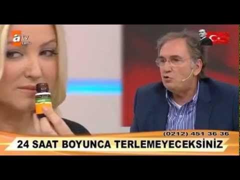 İbrahim Saraçoğlu - Ter Kokusunu Önlemek - Zahide Yetiş Atv - YouTube