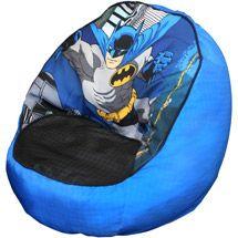 For Ashton:  Walmart: Batman Toddler Bean Bag Chair