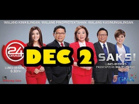 TV Patrol Philippines News December 2, 2016 Live stream - YouTube