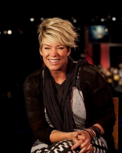 Mia Michaels - I bow to her. On a side note, if I ever do short hair, I'm going with this.