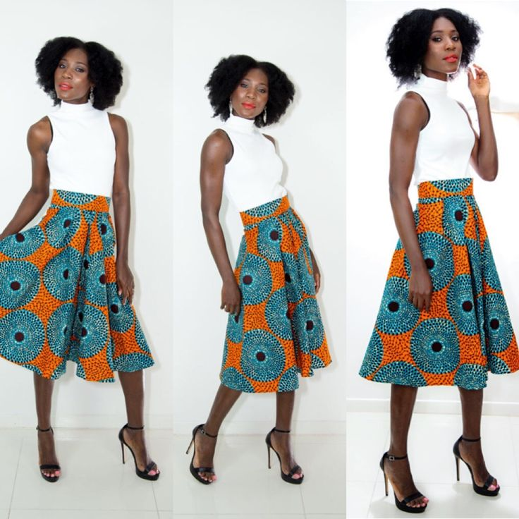 This weeks best seller, the Boakyewaa Skirt. Only one left in size Small. You can Pre-order or send us a message about your interest and we will keep you posted when they are restocked.
