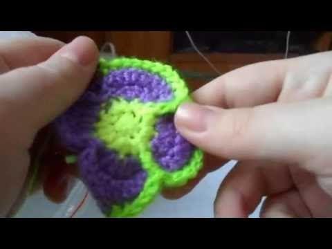 игрушка развивашка цветочный мяч. 3часть - YouTube