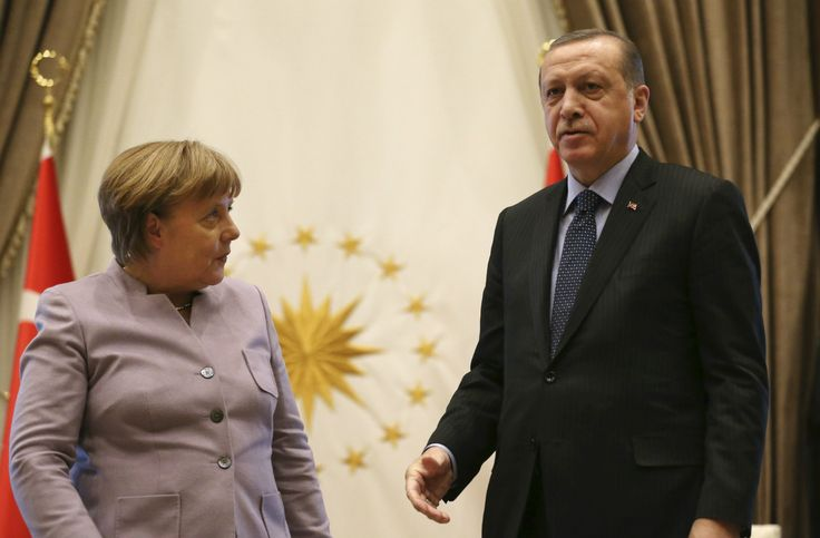 Erdogan tells off Merkel for using phrase 'Islamist terrorism'  THis is moronic.  For the most part in the last decade or so the terrorists have been Muslim.