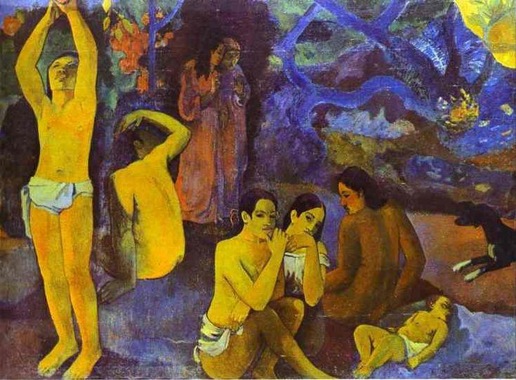 Paul Gauguin >> D où venons Que nous sommes-nous Où allons-nous (Da dove veniamo. Che cosa stiamo. Where Are We Going) (3)