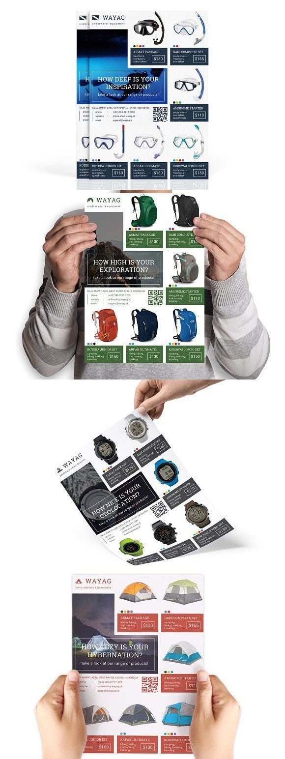 Wayag : Retail Product Flyer. Flyer Templates #InfographicsProduct