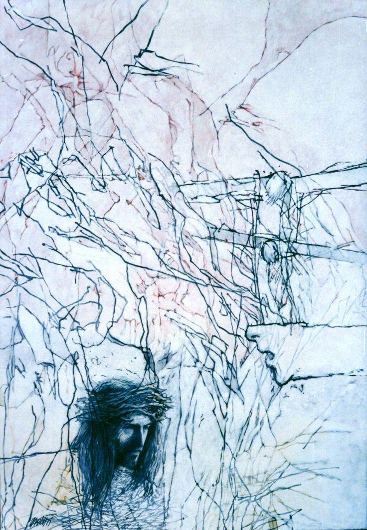 Íme, az ember... Olaj, vászon, 120 x 145 / Ecce Homo... Olej na plátne