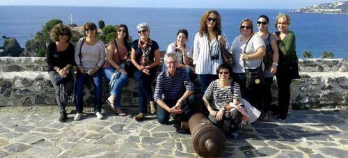 Agentes de viajes de Canadá se interesan por el patrimonio monumental de Almuñécar