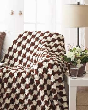 """Crochet Pattern Central - Free 8"""" Afghan Square Crochet"""