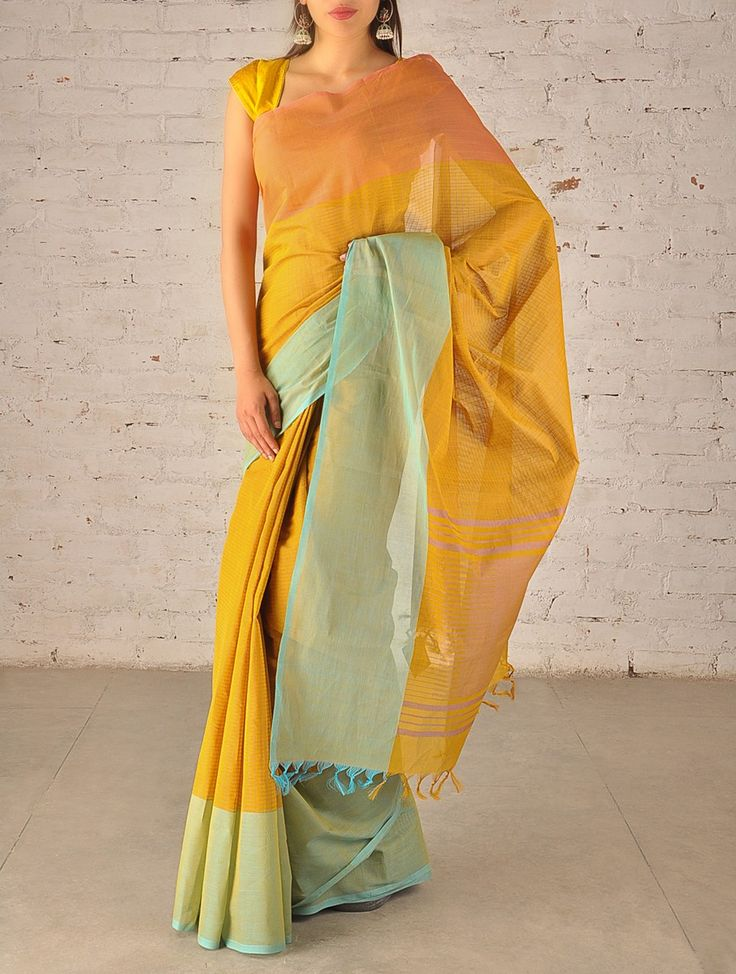 Border Cotton #Saree