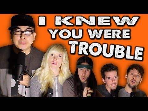 """This a cappella version of Taylor Swift's """"I Knew You Were Trouble"""" by Walk off the Earth ft. KRNFX. 