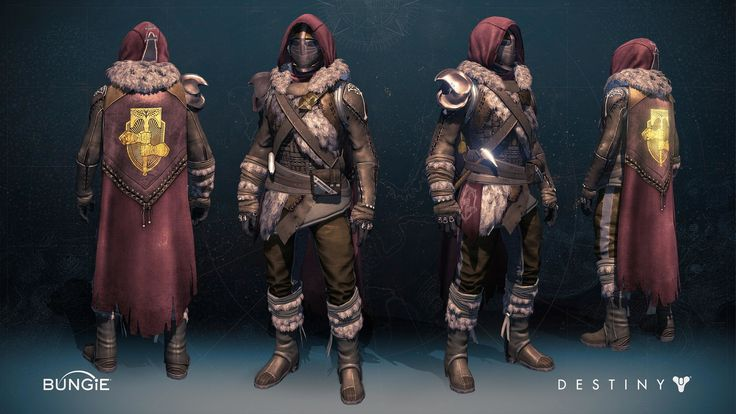 ArtStation - Days of Iron - Hunter, Rosa Lee | Destiny ...