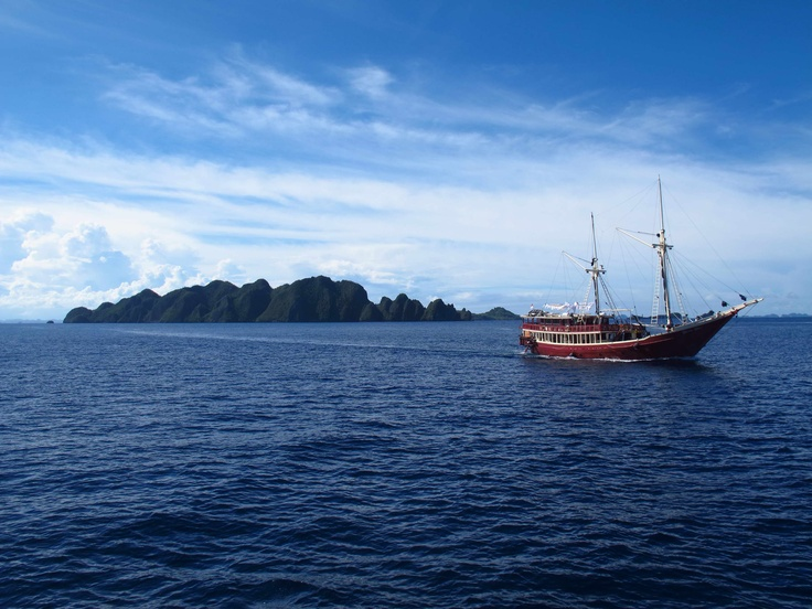 Liveaboard Diving in Raja Ampat, Papua - underwater coral jungles, islands and isolation. The perfect remote get away.