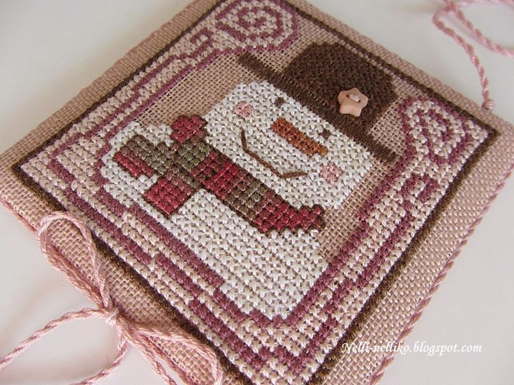 169 Best Images About Cross Stitch - Snowmen On Pinterest | Stitching Stockings And Christmas ...