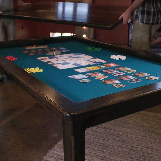 Delightful Board Game Table