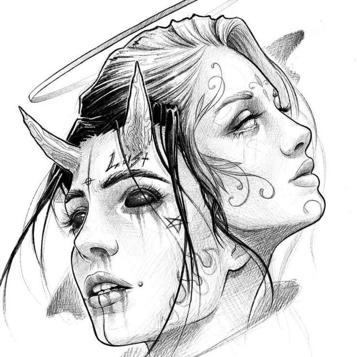 Yin und Yang 🌕🌑   – ideas